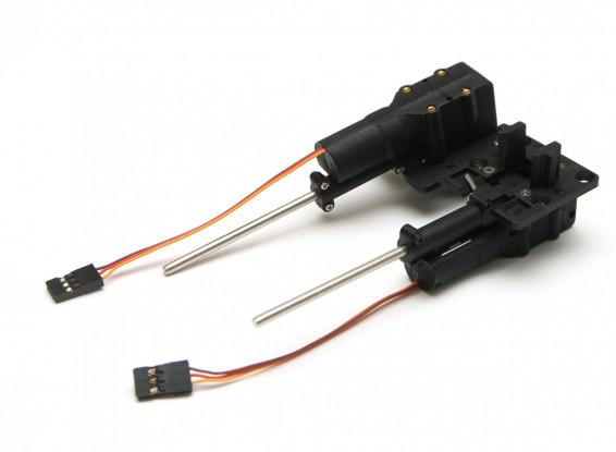 Drehen und wenden den elektrischen Betrieb mit 3mm Fahrwerk Bein (2pc) 29,0 g
