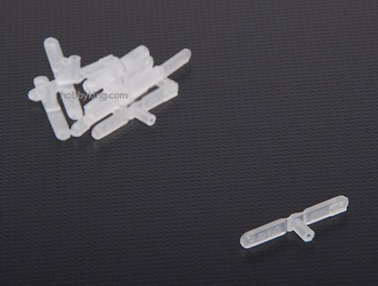 Nylon Clevis 1.0x34mm (10 Stück)