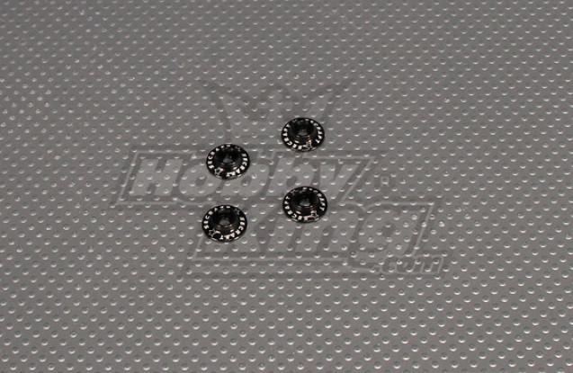 CNC-Flansch Washer 3.0 (M3, # 4 40) Schwarz