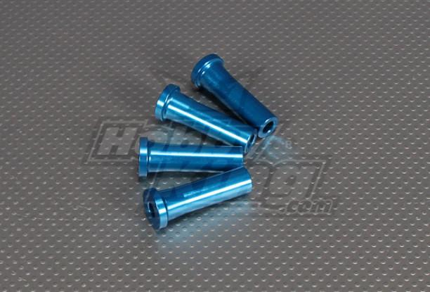CNC Inch Standoff 45mm (M6,1 / 4 20) Blau
