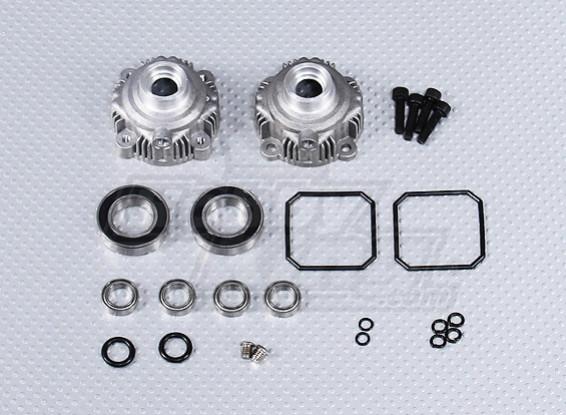Alloy Diff Zahnrad Shell Set - 260 und 260S