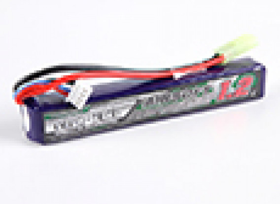 Turnigy Nano-Tech-1200mAh 3S 15 ~ 25C Lipo AIRSOFT-Pack