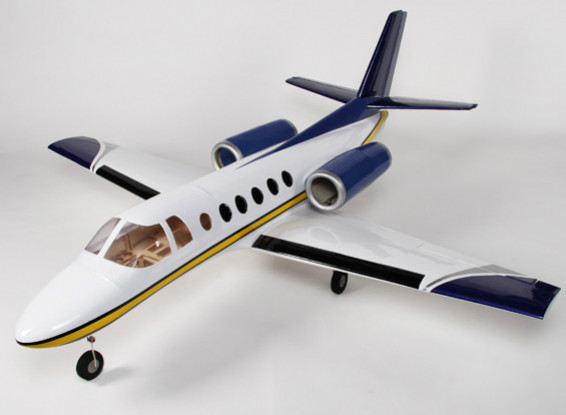 Business Jet 550 Twin 90mm EDF Composite-1775mm (ARF)