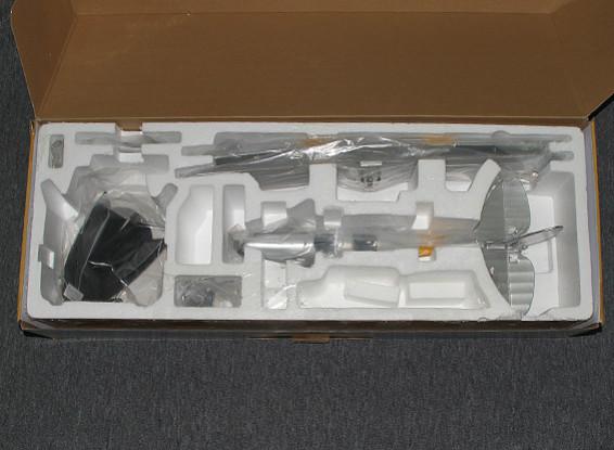 SCRATCH / DENT Hobbyking Micro Tiger Moth 560mm w / Display-Ständer (PNF)