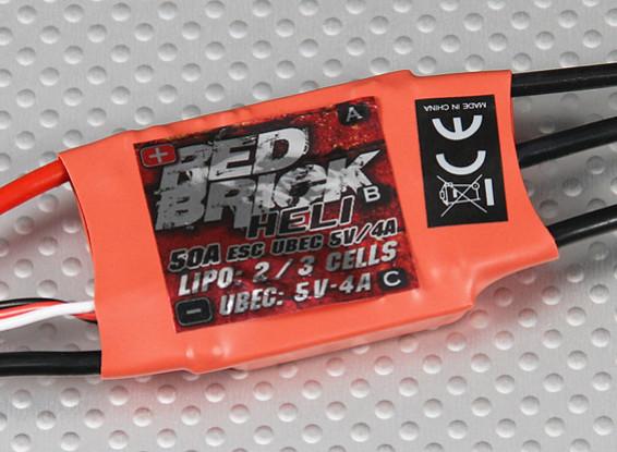 Hobbyking Red Brick 50A ESC - (Heli-Modus)