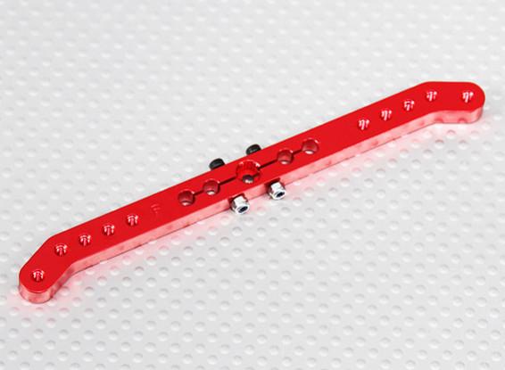 Heavy Duty-Legierung 4.6in Pull-Pull Servo Arm - Futaba (rot)