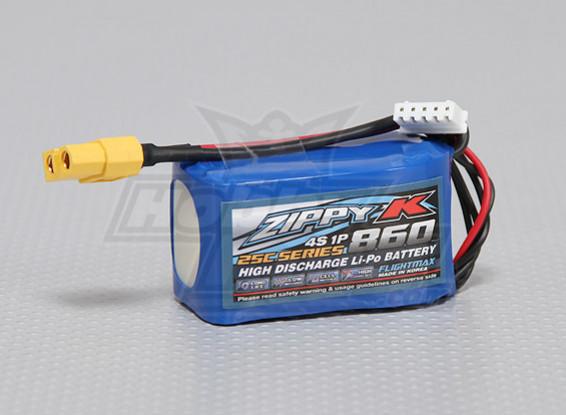 Zippy-K FlightMax 860mAh 4S1P 25C Lipo Akku