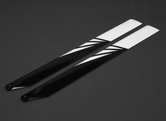 690mm Karbon / Glasfaser-Composite-Hauptblätter