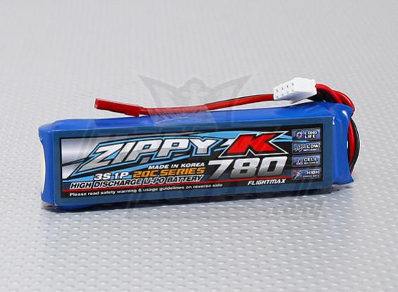 Zippy-K FlightMax 780mAh 3S1P 20C Lipo Akku