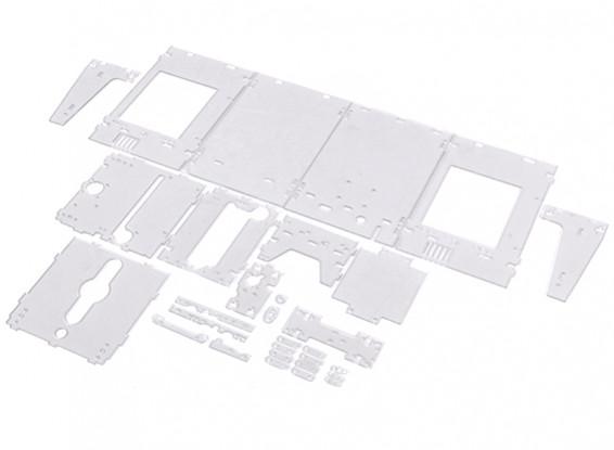 Turnigy Mini Fabrikator 3D-Drucker v1.0 Ersatzteile - Transparent Gehäuse