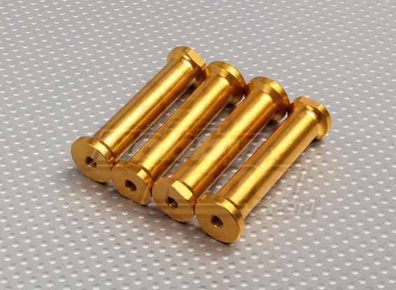 M5 x 60mm Stand-offs (Gold)