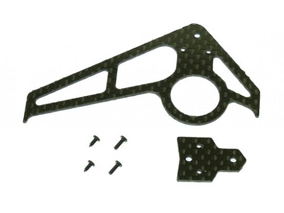 Gaui 100 & 200 Größe CF Fin & Schwanz A-Typ Black (203601)
