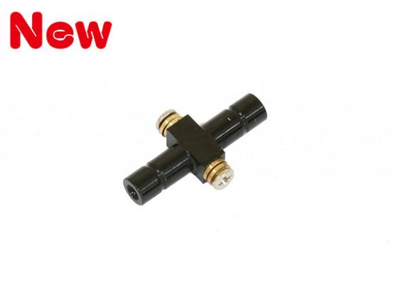 Gaui 100 & 200 Größe CNC See-Saw Spindel (schwarz eloxiert)