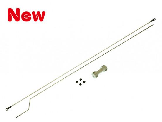Gaui 425 & 550 2mm Push-Rod-Set (mit Adjuster)