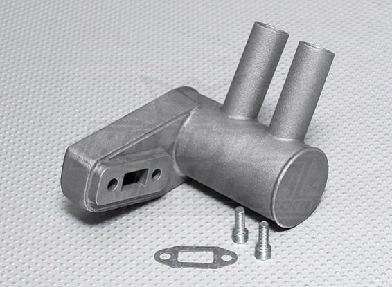 Pitts Schalldämpfer für 15cc Gasmotor