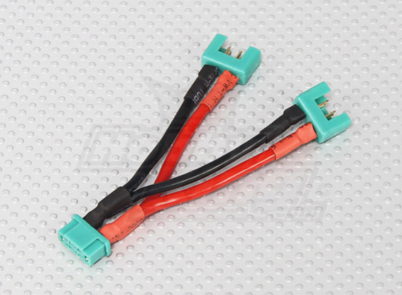 MPX Batteriekabel für 2 Packs in Parallel