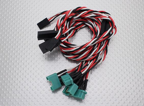 MPX-Art-Plug-In-Flügel Kabelbaum für E-Taifun (Aileron & Flap)