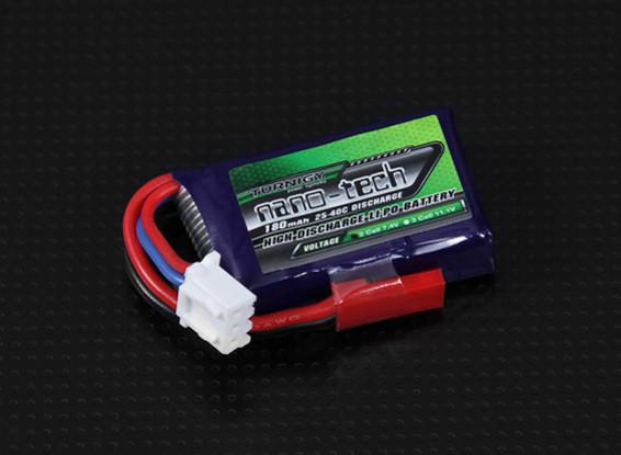 Turnigy Nano-Tech-180mAh 2S 25 ~ 40C Lipo-Pack