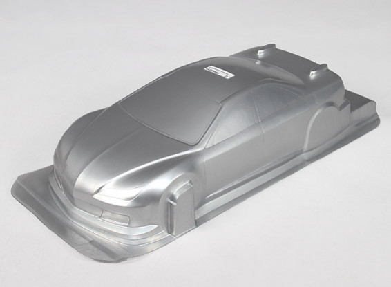 1/10 CR-6R Körper Shell w / Abziehbilder (Silber)