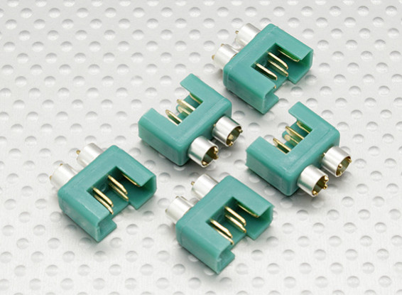 MPX-Stecker mit silberner Farbe Ring, männlich (5 Stück pro Beutel)