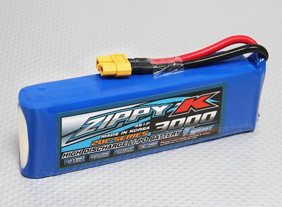 Zippy-K FlightMax 3000mAh 4S1P 20C Lipo Akku