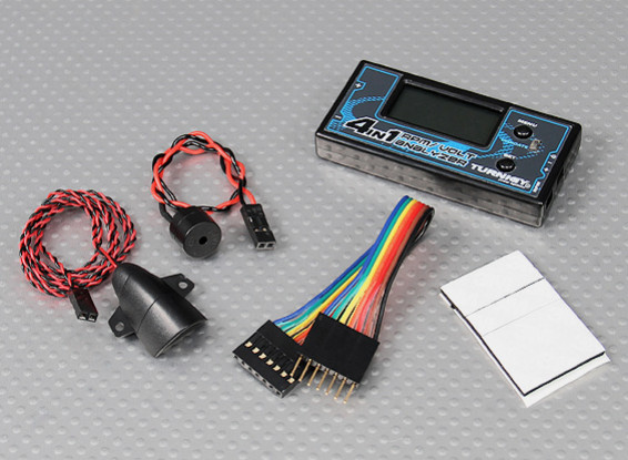 Turnigy 4-in-1 RPM / Voltage Analyzer (2 ~ 6S LiPo / LiFe)