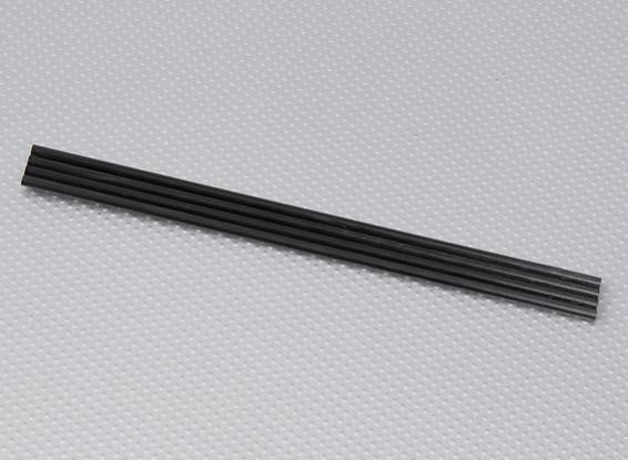 Turnigy HAL Carbon Vertical Landing Skid Rod 5mm x 250mm (4 Stück / bag)