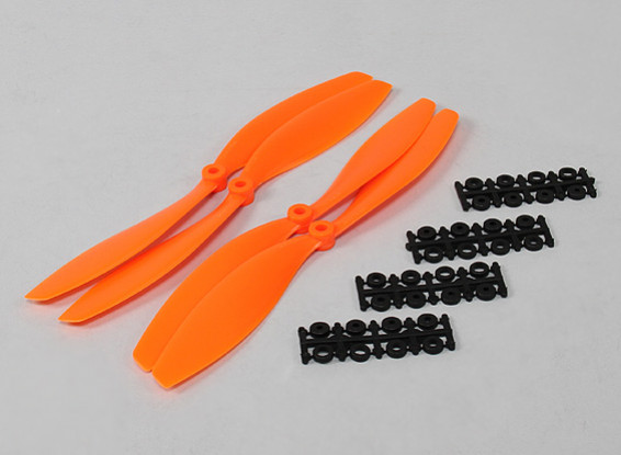 10x4.5 SF Props 2pc CW 2 pc Linkslauf (orange)