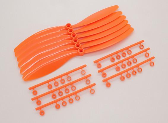 GWS EP gegenläufig rotierende Propeller (RH-8060 203x152mm) Orange (6pcs / set)