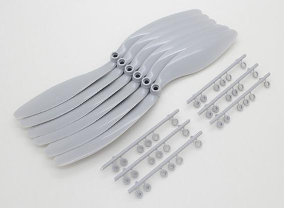 1047 GWS EP Propeller grau CW (von hinten) (6pcs / set)