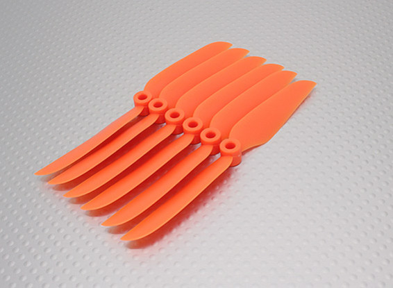 GWS EP Propeller (DD-5030 127x76mm) Orange (6pcs / set)