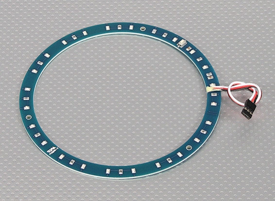 LED-Ring 145mm Grün w / 10 wählbare Modi
