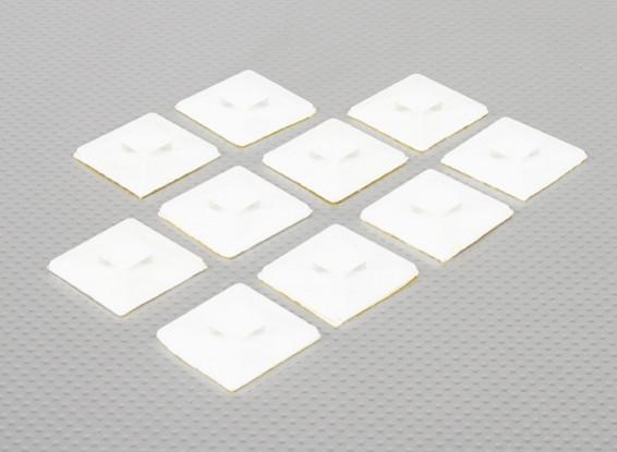 Kabelbinder Anker Selbstklebende Large Size - 10pcs / bag