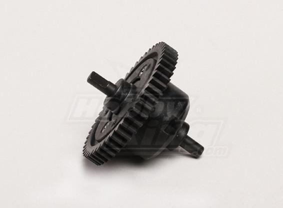 -Center Differential w / Main Gear - Turnigy Wegbereiterin 1/8, XB und XT 1/5