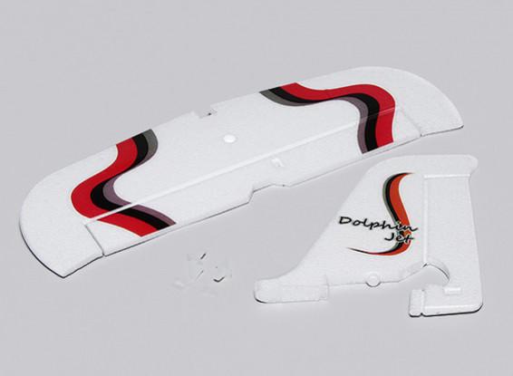 Dolphin Jet EPO 1010mm - Ersatz Vertikale und horizontale Schwanz