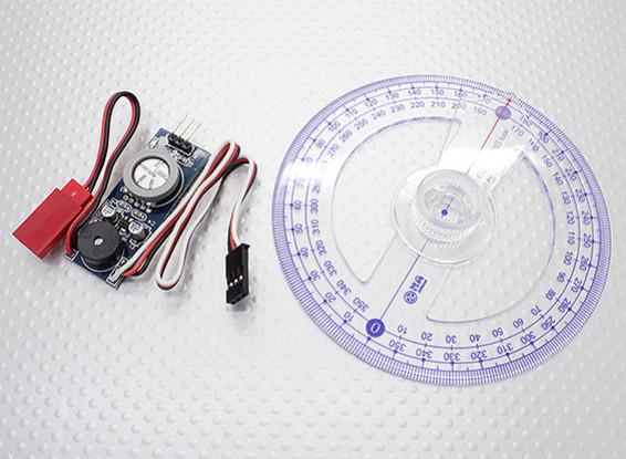 Gasmotor CDI Zündung Test-und Timing-Setup Tool - Inklusive Kurbelwelle Gradscheibe