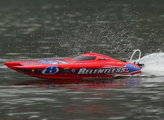 Quanum Relentless Brushless Katamaran Rennboot 740mm (ARR)