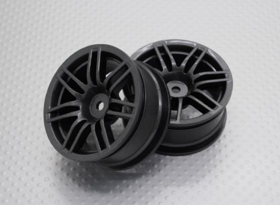 Maßstab 1:10 Hohe Qualität Touring / Drift Felgen RC Car 12mm Hex (2pc) CR-RS4M