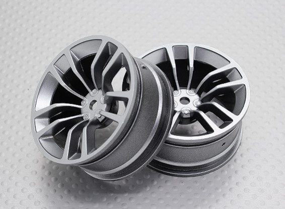 Maßstab 1:10 Hohe Qualität Touring / Drift Felgen RC Car 12mm Hex (2pc) CR-DBSS