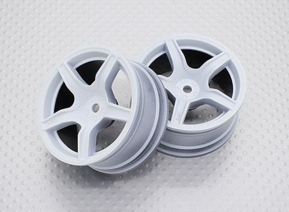 Maßstab 1:10 Hohe Qualität Touring / Drift Felgen RC Car 12mm Hex (2pc) CR-C63W