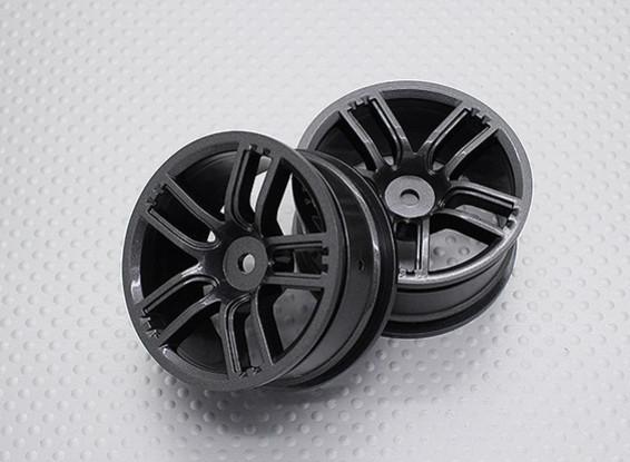 Maßstab 1:10 Hohe Qualität Touring / Drift Felgen RC Car 12mm Hex (2pc) CR-GTM