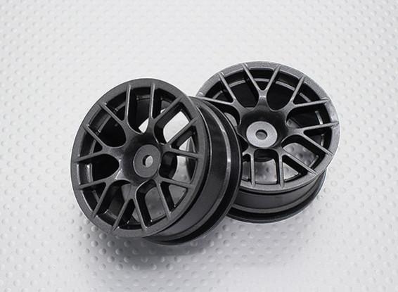 Maßstab 1:10 Hohe Qualität Touring / Drift Felgen RC Car 12mm Hex (2pc) CR-CHM