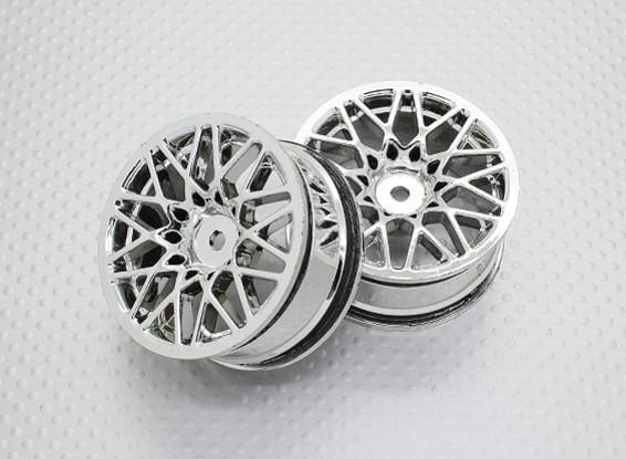 Maßstab 1:10 Hohe Qualität Touring / Drift Felgen RC Car 12mm Hex (2pc) CR-LBC