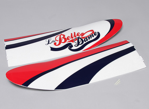 La Belle Dame 1180mm - Main Wing Set