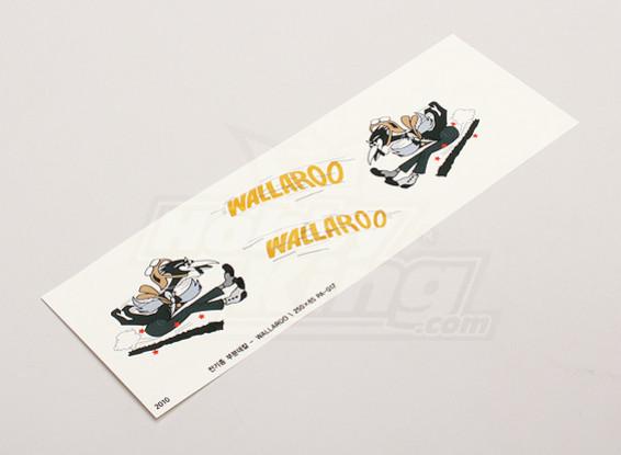 """Nasen-Kunst - """"Wallaroo"""" (L / R-seitig)"""