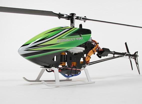 Sturm 450 DFC Flybarless 3D Hubschrauber w / OrangeRX T-SIX 2.4Ghz DSM2 Sender - Mode 2 (RTF)