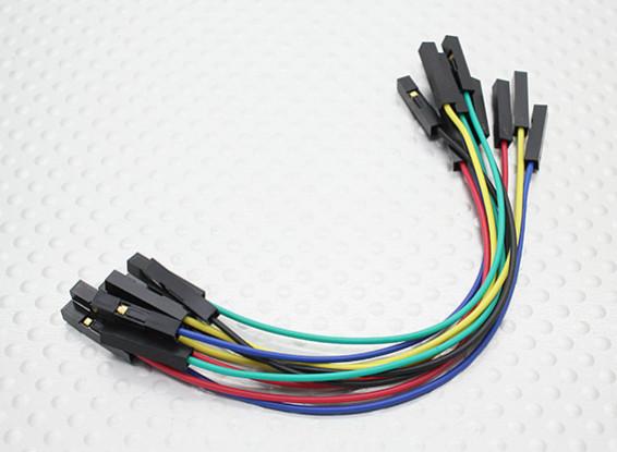 120 mm Buchse auf Buchse Jumper Kabel Set (10 Stück)