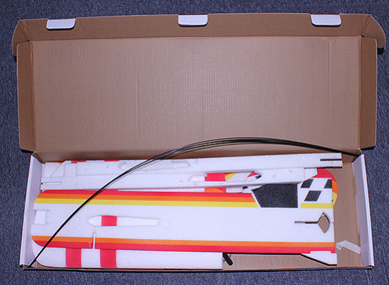 SCRATCH / DENT GEE BEE EVP Profil 3D-Kunstflugzeug 1000mm (Kit)