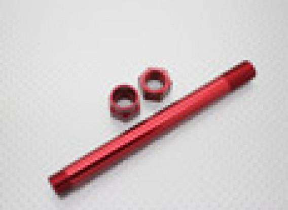 1/8 Skala Aluminium Radträger 17mm - Rot
