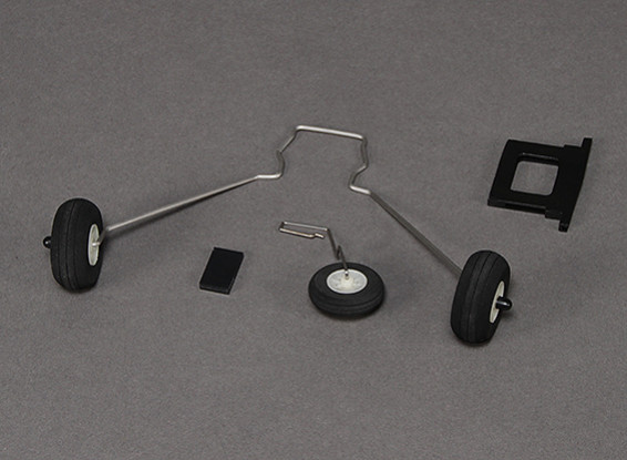 Hobbyking Bixler und Bixler 2 Fahrwerk Set w / Tailwheel